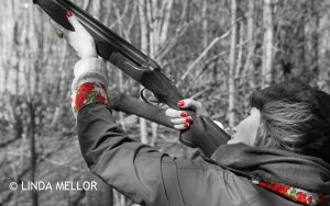 selective colour_LADIES_CLAY_SHOOTING